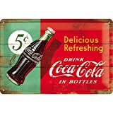 Nostalgic-Art Retro Blechschild, Coca-Cola – Delicious