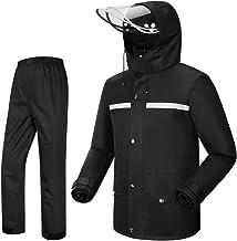 Sponsored Ad - iCreek Rain Suit Jacket & Trouser Suit Raincoat Unisex Outdoor Waterproof Anti-Storm