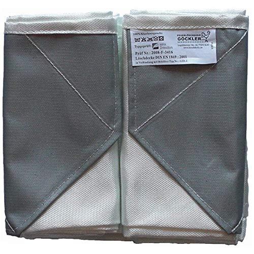 Löschdecke 160x180cm DIN EN1869 Brandschutzdecke Hitzeschutzdecke von MBS-FIRE®