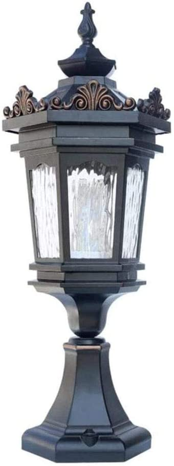 ACQUIRE Cheap Max 51% OFF mail order shopping European Style Outdoor Waterproof Head Wall Column Lamp