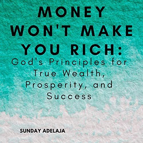 Money Won't Make You Rich cover art