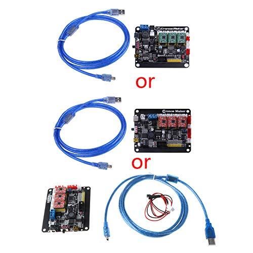 S-TROUBLE CNC 3018 CNC Motor Paso a Paso de 3 Ejes Placa controladora de Placa de Controlador USB de Doble Eje Y para enrutador CNC GRBL