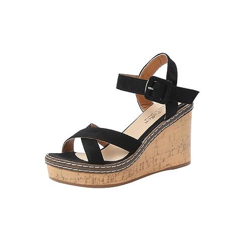 bbc6cd7fe5f9 Lolittas Wedge Sandals Women Ladies