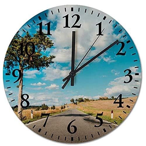 NIUMM Reloj De Pared Relojes Silenciosos Sin Torsión Seasid