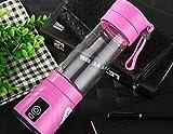 stts Aufladung Juicer Mini Fruit Glass Portable Electric Saft Saft Cup Kreatives Geschenk,Rosa