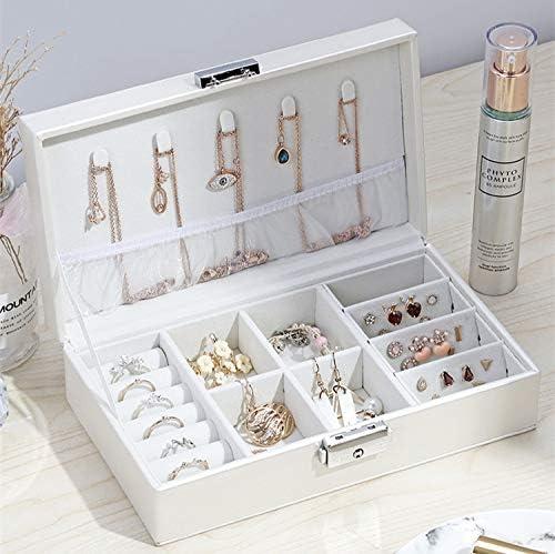 Jewelry Box Locked Limited Brand Cheap Sale Venue time sale Casket Portable Organizer Makeup Beau