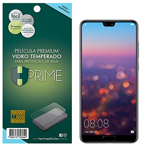 Pelicula de Vidro Temperado 9h para Huawei P20 Pro, HPrime, Película Protetora de Tela para Celular, Transparente