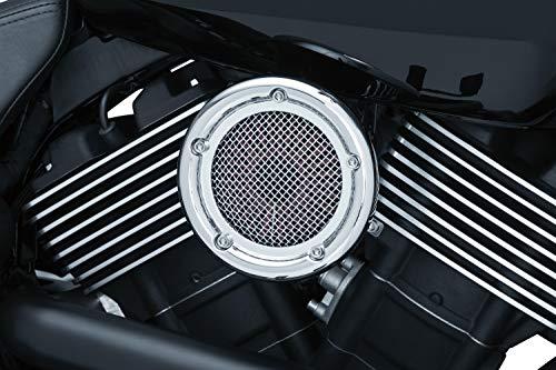 Kuryakyn 9370 Crusher Velociraptor Air Cleaner/Filter Kit for 2015-19 Harley-Davidson Street 500 & 750 Motorcycles, Chrome