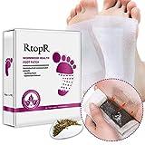 xiliary Detox Fußpflaster,Stück Detox Pflaster Fuß Detox Foot Pads 100% Natürliche Detox-Fußpflaster zur Entfernen von Körpergiften, Schmerzlinderung, Besserer Schlaf, Mehr Energie...