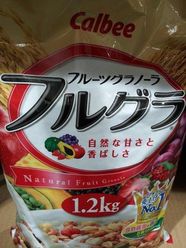 カルビー フルーツグラノーラ 1.2kg×2袋
