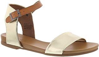 67e0c4e2cfa5a ZIGI SOHO Island Women s Sandal 10 B(M) US Gold-Tan