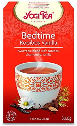 Yogi Tea - Bedtime Rooibos Vanilla - 30.6g (Case of 6)