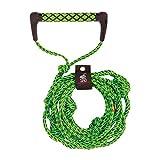 Airhead Wakesurf Rope 25', Green, 25 Foot