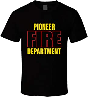 Pioneer Fire Department Personalized City T Shirt