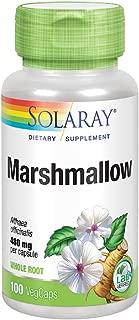 Solaray Marshmallow Root 480 mg   Healthy Respiratory Function & Digestion Support   Non-GMO & Vegan   100 VegCaps