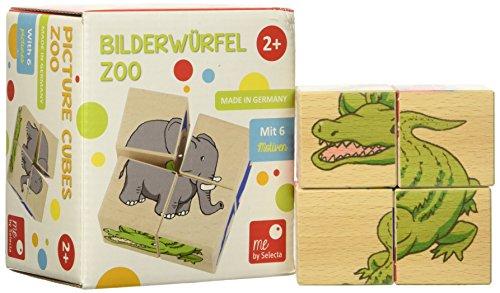 Selecta- Cubes d'image-Zoo-4 pièces, 1150