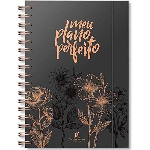 Meu Plano Perfeito - Nova Edição (2021) - Capa Dura Preto - Exclusivo 100% Cristão