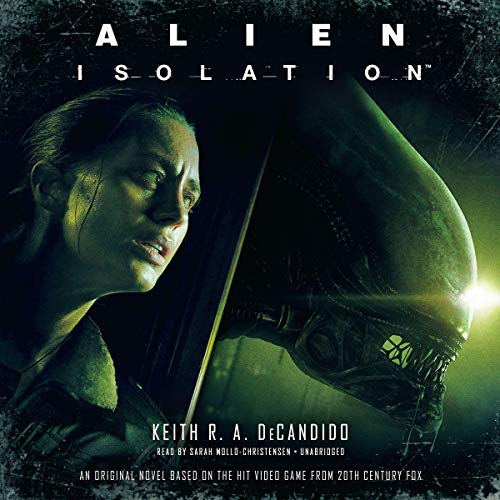 Alien: Isolation audiobook cover art