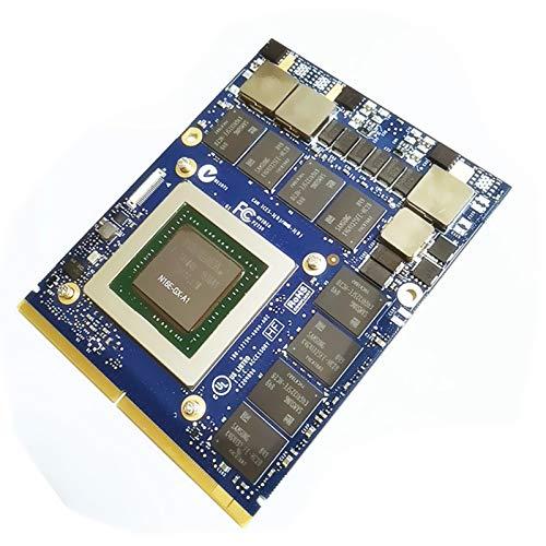 Carte graphique de rechange pour ordinateur portable Alienware 18 17 R1 R2 R3 R4 M17X R4 R5 M18X R2 R3 Gaming Laptop NVIDIA GeForce GTX 980M GDDR5 MXM 3.0B VGA