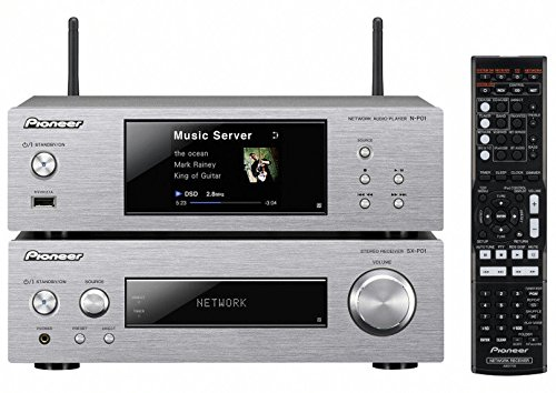 Pioneer P2DAB-S 150W Silber Home-Stereoanlage (XN-P02DAB-S)