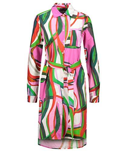 0039 Italy Damen Kleid Multicolor (90) S