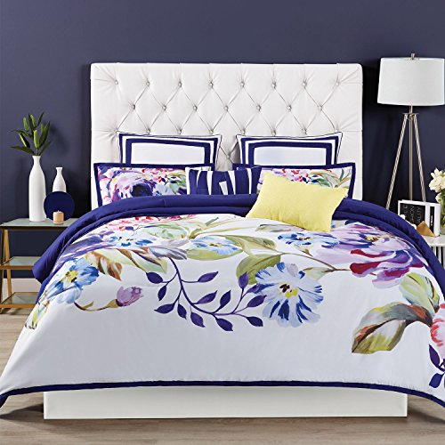 Christian Siriano Comforter Set, Full/Queen, Garden Bloom