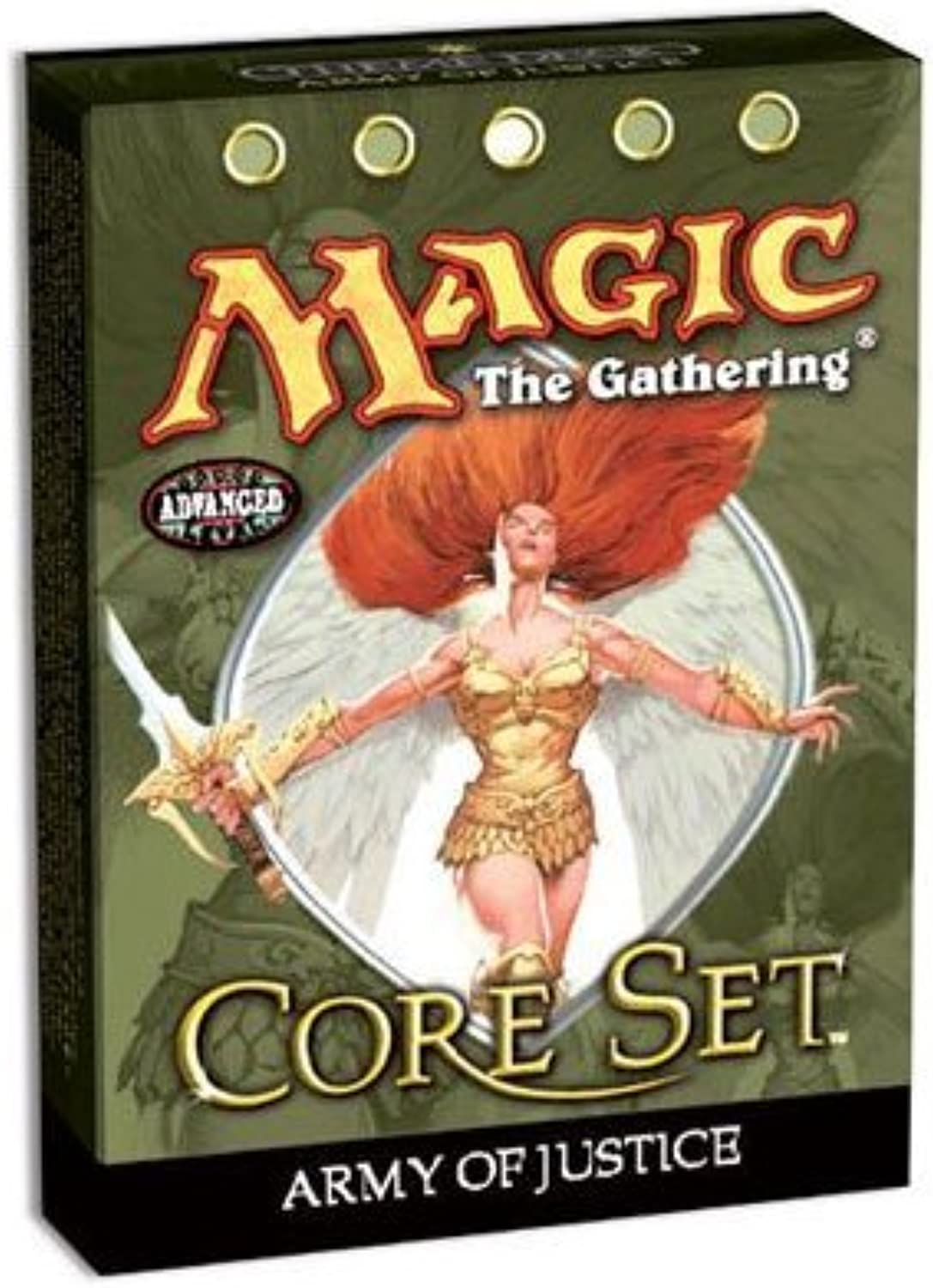 Magic the Gathering MTG 9th Edition Core Set Army of Justice Theme Deck