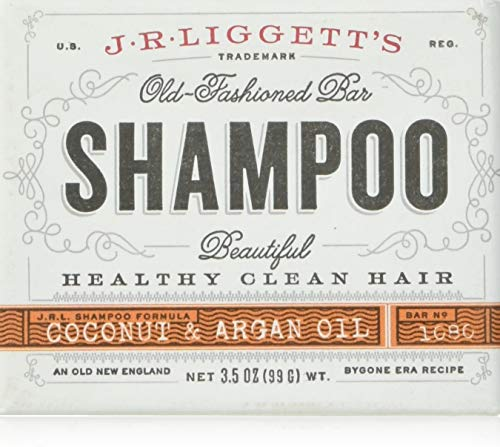 J. R. Liggetts, shampoo bar, Virgin Coconut & Arganolie, 3,5 oz (99 g)
