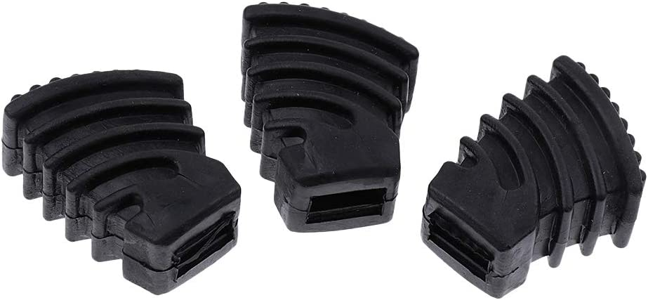 3pcs Rubber Feet For Long-awaited Drums - Super beauty product restock quality top Parts Instrument Percussion Musical