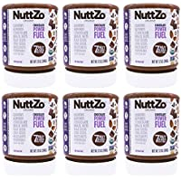 6-Pack NuttZo 7 Nuts & Seeds Blend Paleo Chocolate Power Fuel
