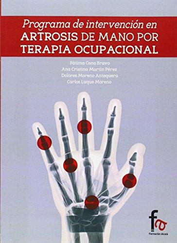 Programa De Intervención En Artrosis De Manos Por Terapia Ocupacional (CIENCIAS SANITARIAS)