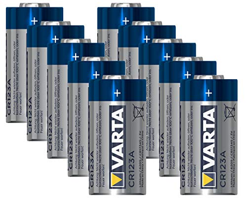 10x Varta Professional CR123A CR 123A Photo Lithium Batterie 3 Volt