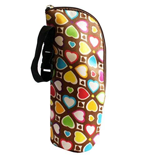 SMARTLADY Térmica Funda Bolsas para Bebé Biberón Momia Bolso de mano, colorido