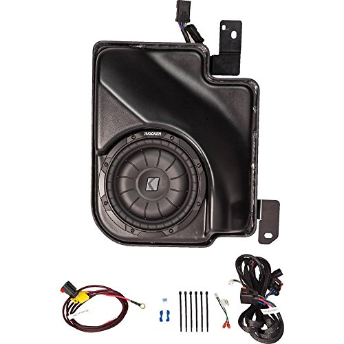 Kicker SSICRE07 07-UP Chevy Silverado Ext Cab Powered Sub (Certified Refurbished)