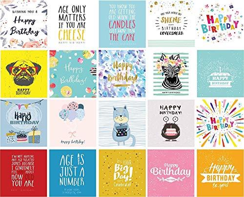 20 Birthday Cards...