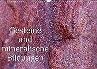 Gesteine und mineralische Bildungen (Wandkalender 2022 DIN A3 quer): Die zauberhafte Welt der Steine und Mineralien (Monatskalender, 14 Seiten )