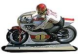 auto-horloge Giacomo AGOSTIN Moto GP, Yamaha, Miniatur Modell Motorrad in der Uhr 02 -