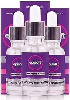 Episoft Hair Removal Inhibitor Serum - 3 Bottle