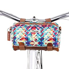 ✔️ YOUR NEW GO TO BAG | With a fashionable yet durable design Kinga Handlebar is cute enough for date night and rugged enough for commutes in rain snow or sun. ✔️ ULTRA FUNCTIONAL | 2 exterior pockets including a slash style pocket to store the shoul...