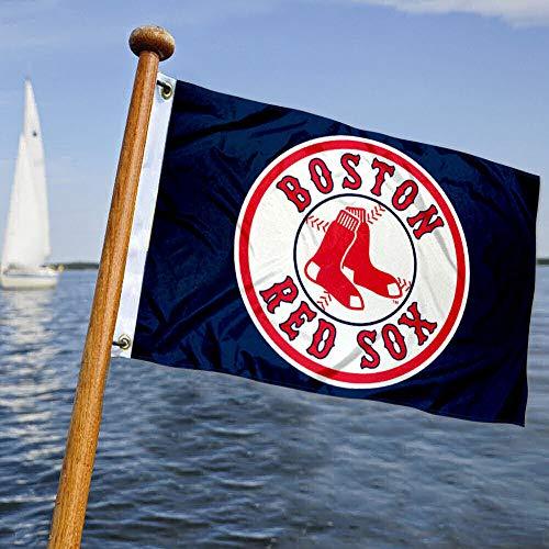 WinCraft Boston Sox Baseball Boat and Golf Cart Flag