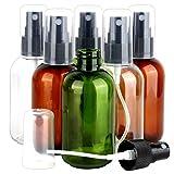 Teenitor 6 Pack 2.7OZ/80ML Fine Mist Spray Bottles, Travel Size Spritzer Bottle Refillable