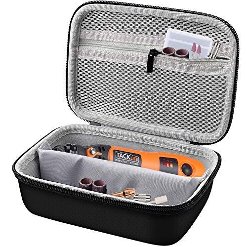 Tasche Organizer für Mini Multifunktionswerkzeug, Tacklife Rotary tool für viele kreative Projekte oder Heimwerkerarbeiten