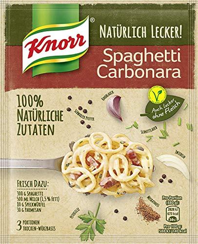 Knorr Natürlich Lecker! Spaghetti Carbonara, 47 ml