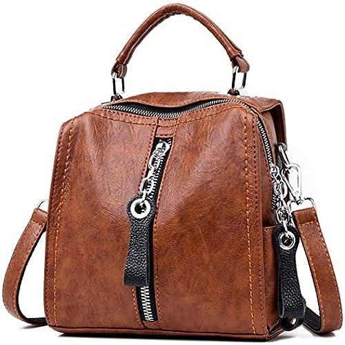 Brown Ladies Bag For Women 2019 Designer Shoulder Cross Body Bag PU Leather Handbags For Women Ladies Girl Multifunction Bag