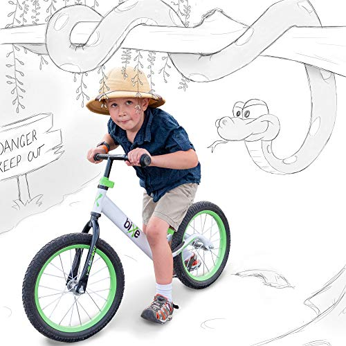 Green Pro Balance Bike for Big Kids and Kids with Special Needs - 16