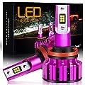 Autofeel LED Headlight Bulbs Conversion Kit, Dual High/Low Beam -Xenon White 6500k, 1 Year Warranty