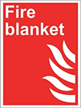 Fire Blanket Sign, Rigid, 15x20cm