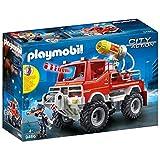 Playmobil City Action 9466 - Camion Spara Acqua dei Vigili del Fuoco, dai 4 anni