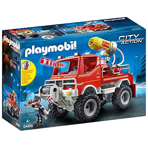PLAYMOBIL City Action Todoterreno con Efectos de Luz y Sonid