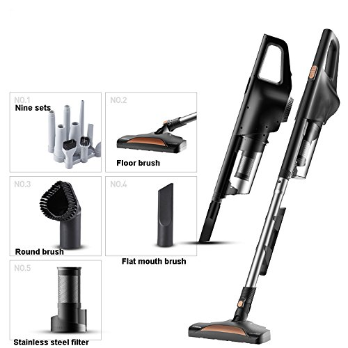 Find Discount IhDFR Vacuum Cleaner Home Mute Handheld Vacuum Cleaner Low Noise, Detachable Strong De...